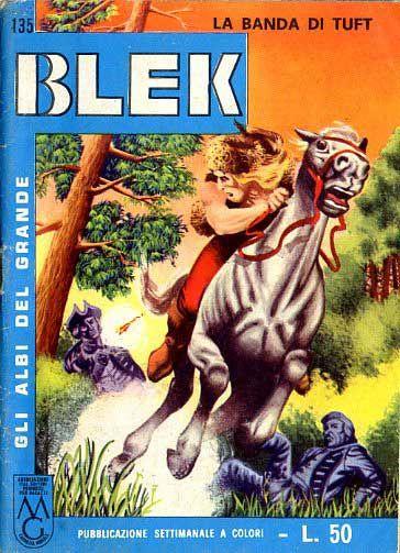 ALBI DEL GRANDE BLEK #   135: LA BANDA TUFT