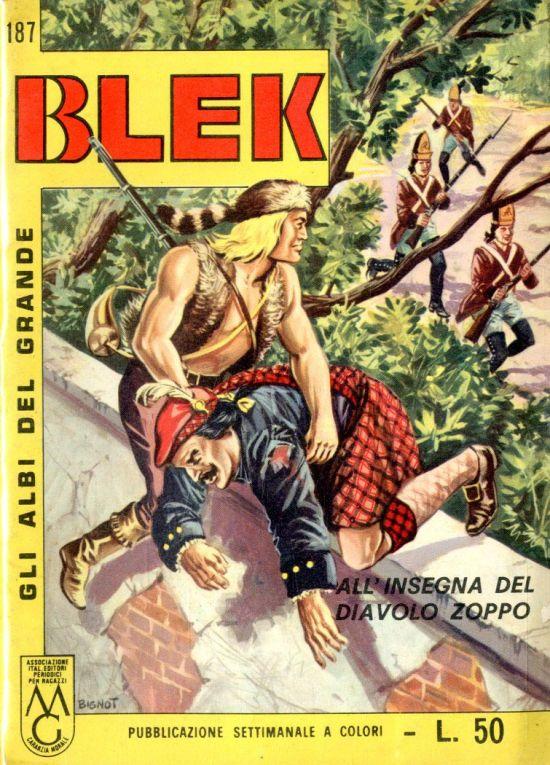 ALBI DEL GRANDE BLEK #   187: ALL'INSEGNA DEL DIAVOLO ZOPPO