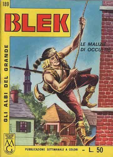 ALBI DEL GRANDE BLEK #   189: LE MALIZIE DI OCCULTIS