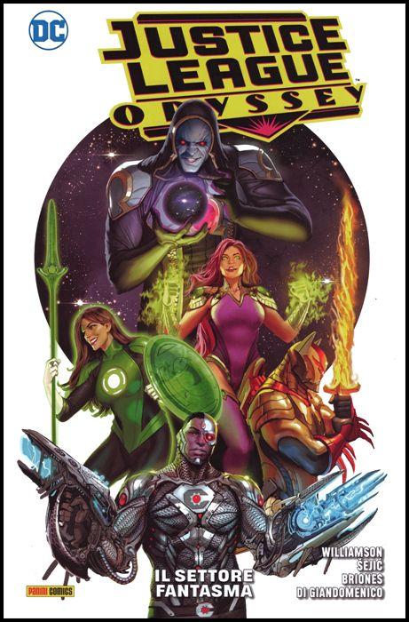 DC COMICS SPECIAL - JUSTICE LEAGUE ODYSSEY #     1: IL SETTORE FANTASMA