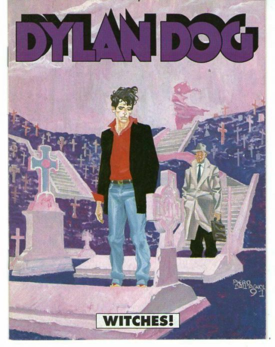 DYLAN DOG:  WITCHES ALLEGATO A GLAMOUR N 3