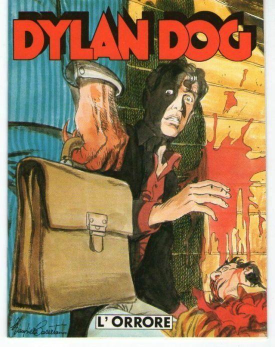 DYLAN DOG  L'ORRORE  ALLEGATO A GLAMOUR 1989 DA PER LUI N 74