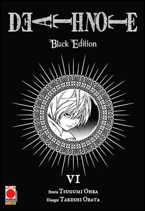DEATH NOTE BLACK EDITION #     6 - 3A RISTAMPA
