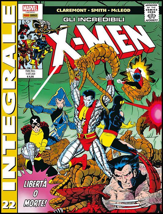 MARVEL INTEGRALE - X-MEN #    22
