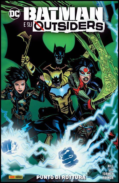 DC COMICS COLLECTION INEDITO - BATMAN E GLI OUTSIDERS #     2: PUNTO DI ROTTURA