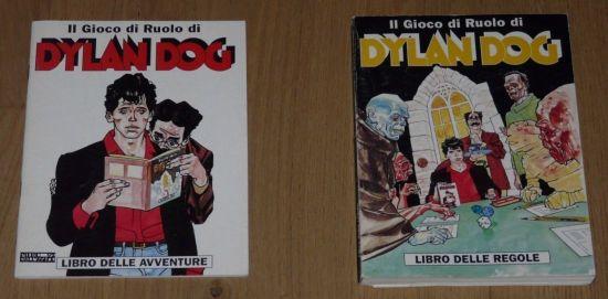 DYLAN DOG IL GIOCO DI RUOLO - LIBRO DELLE REGOLE - 1A EDIZIONE + 4 DADI ALLEGATI (3 D6 +1 D20 )