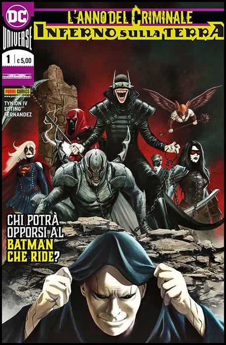 DC CROSSOVER #     5 - L'ANNO DEL CRIMINALE: INFERNO SULLA TERRA 1