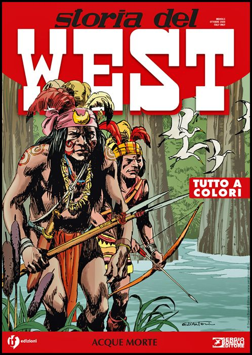 COLLANA WEST #    19 - STORIA DEL WEST 19: ACQUE MORTE