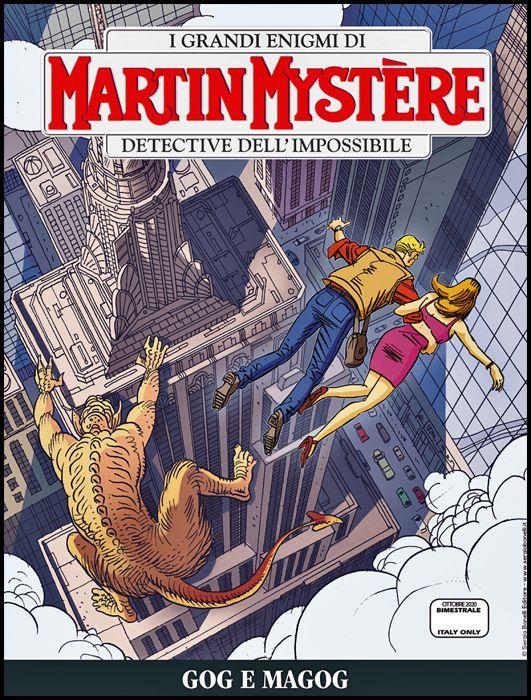 MARTIN MYSTERE #   371: GOG E MAGOG