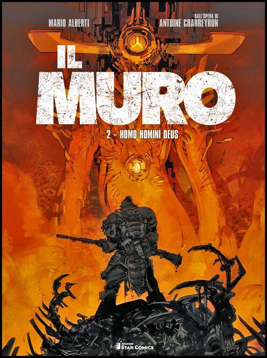 STAR COMICS PRESENTA EXTRA #    13 - IL MURO 2: HOMO HOMINI DEUS