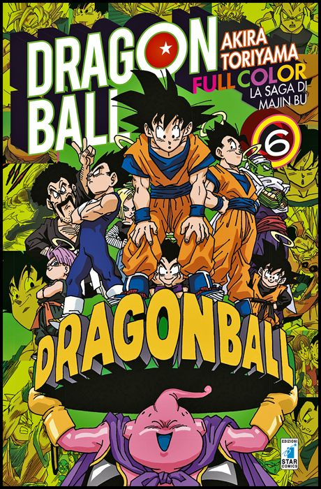 DRAGON BALL FULL COLOR #    32 - LA SAGA DI MAJIN BU 6 ( DI 6 )
