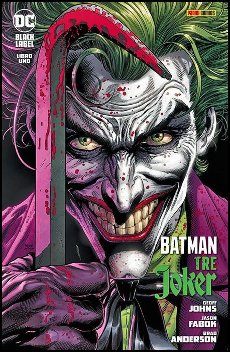 DC BLACK LABEL - BATMAN: TRE JOKER #     1