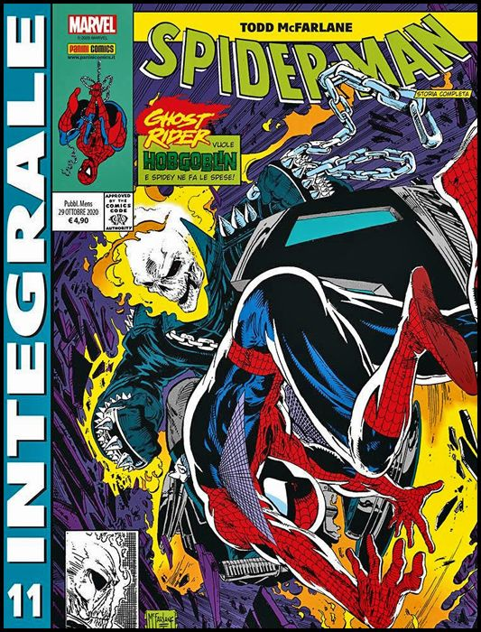 MARVEL INTEGRALE - SPIDER-MAN - TODD MCFARLANE #    11
