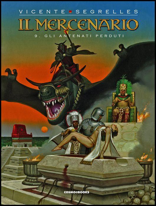 COSMO BOOKS - IL MERCENARIO #     9: GLI ANTENATI PERDUTI