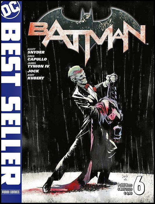DC BEST SELLER #     6 - bATMAN di SCOTT SNYDER & GREG CAPULLO 6