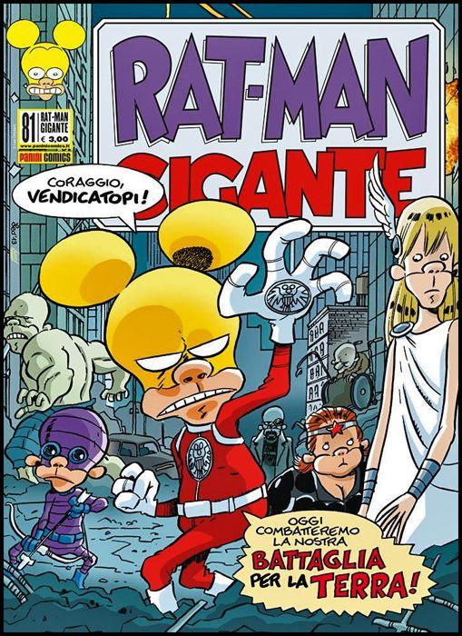 RAT-MAN GIGANTE #    81: BATTAGLIA PER LA TERRA!