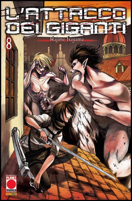 GENERATION MANGA #     8 - L'ATTACCO DEI GIGANTI 8 - 4A RISTAMPA