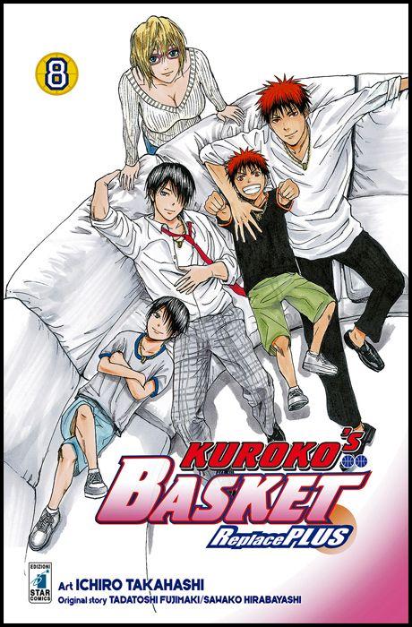FAN #   254 - KUROKO'S BASKET REPLACE PLUS 8