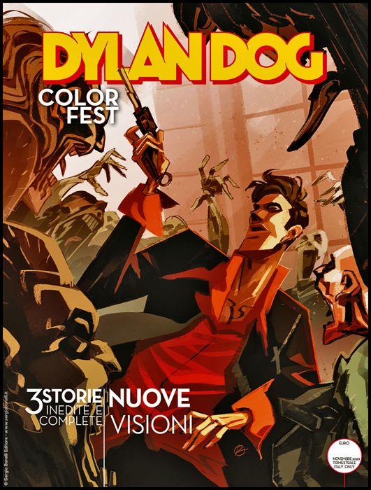 DYLAN DOG COLOR FEST #    35: NUOVE VISIONI
