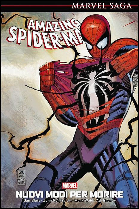 MARVEL SAGA - AMAZING SPIDER-MAN #     4: NUOVI MODI PER MORIRE