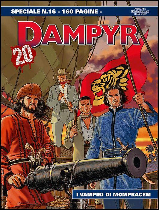 DAMPYR SPECIALE #    16: I VAMPIRI DI MOMPRACEM