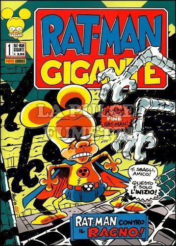 RAT-MAN GIGANTE 1/4 NUOVI  ESAURITO N 1-2-3