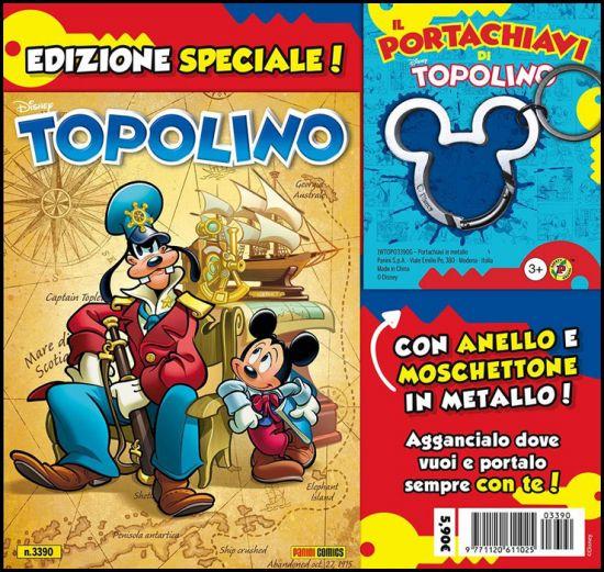 TOPOLINO LIBRETTO #  3390 + IL PORTACHIAVI DI TOPOLINO