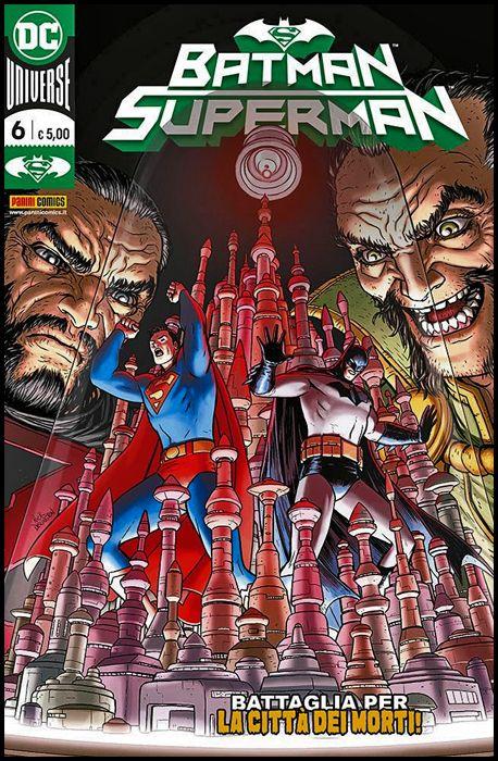 BATMAN SUPERMAN #     6