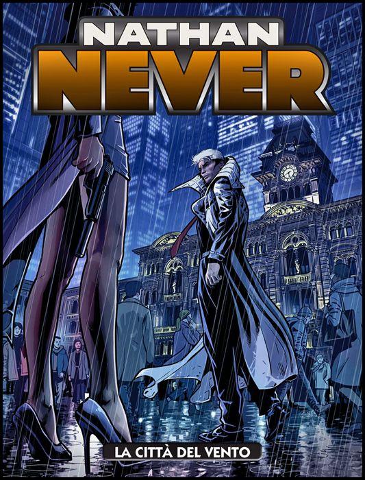NATHAN NEVER #   354: LA CITTÀ DEL VENTO