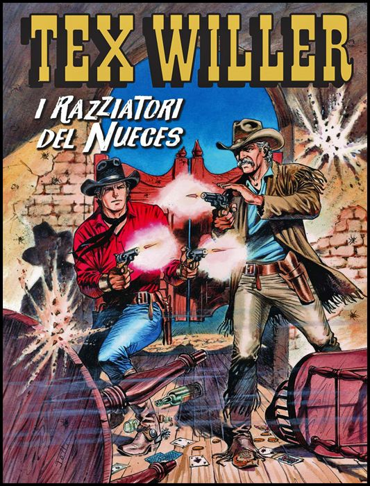TEX WILLER #    24: I RAZZIATORI DEL NUECES
