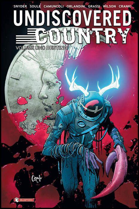UNDISCOVERED COUNTRY #     1: DESTINO - VARIANT MANICOMIX - 500 COPIE