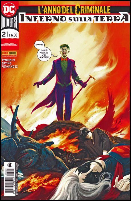 DC CROSSOVER #     6 - L'ANNO DEL CRIMINALE: INFERNO SULLA TERRA 2