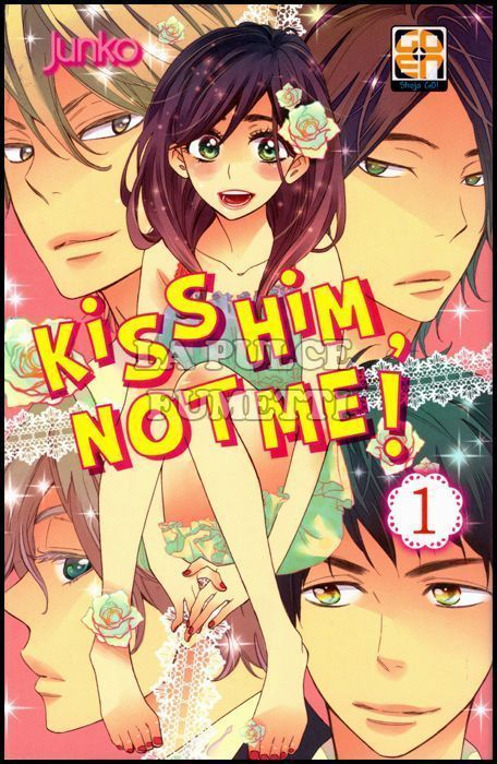 GAKUEN COLLECTION  - KISS HIM, NOT ME 1/8 NUOVI