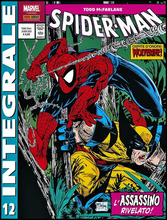 MARVEL INTEGRALE - SPIDER-MAN - TODD MCFARLANE #    12