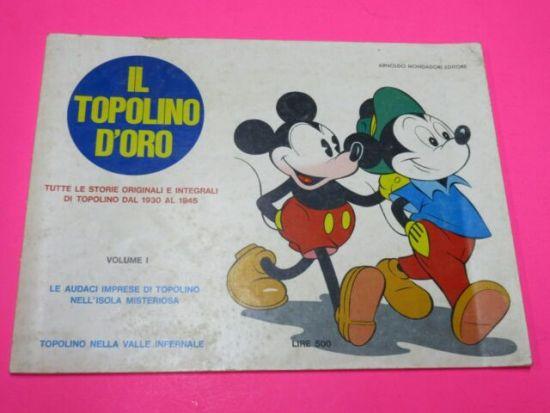 TOPOLINO D'ORO #     1: LE AUDACI IMPRESE DI TOPOLINO NELL'ISOLA MISTERIOSA
