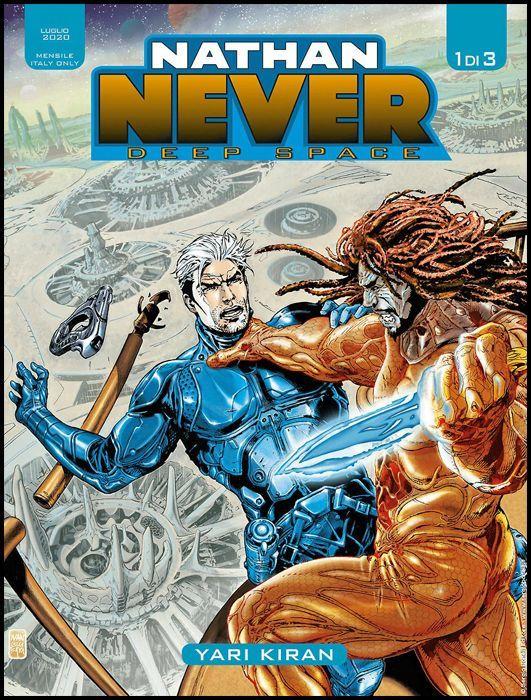 NATHAN NEVER GIGANTE  - NATHAN NEVER DEEP SPACE 1/3 COMPLETA NUOVI