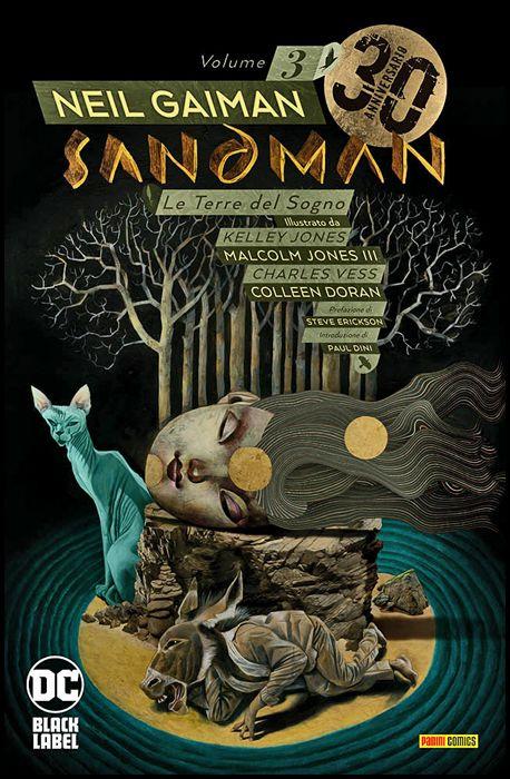 SANDMAN LIBRARY #     3: LE TERRE DEL SOGNO