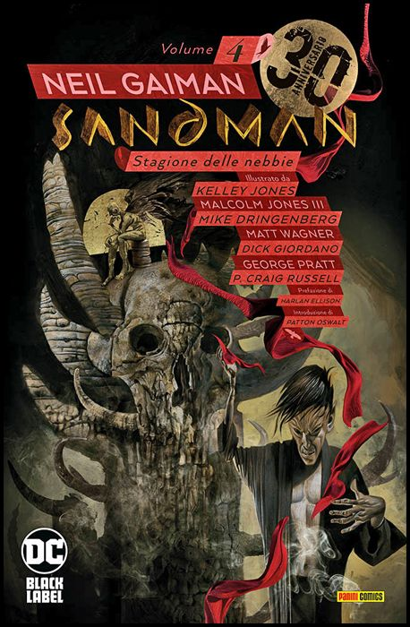SANDMAN LIBRARY #     4: STAGIONE DELLE NEBBIE