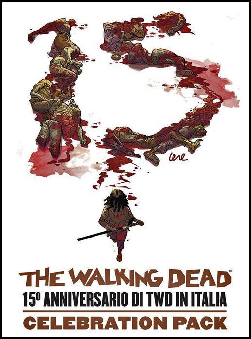 WALKING DEAD EDICOLA #    70 - BOX 15° ANNIVERSARIO