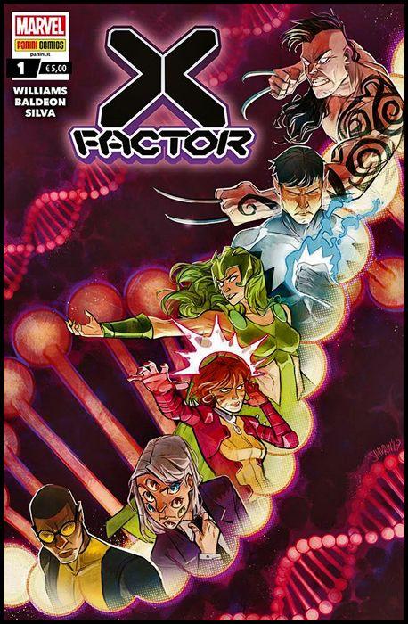 X-FACTOR #     1
