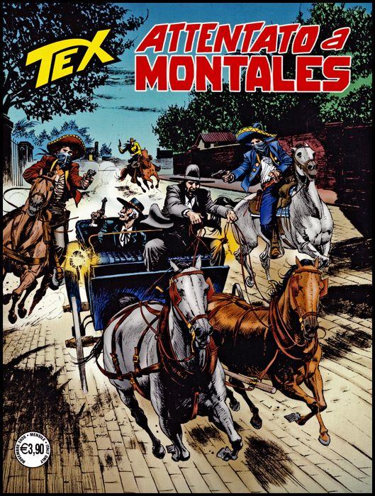 TEX GIGANTE #   721: ATTENTO A MONTALES
