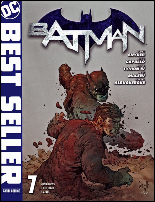 DC BEST SELLER #     7 - bATMAN di SCOTT SNYDER & GREG CAPULLO 7