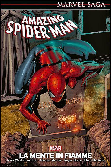 MARVEL SAGA - AMAZING SPIDER-MAN #     6: LA MENTE IN FIAMME