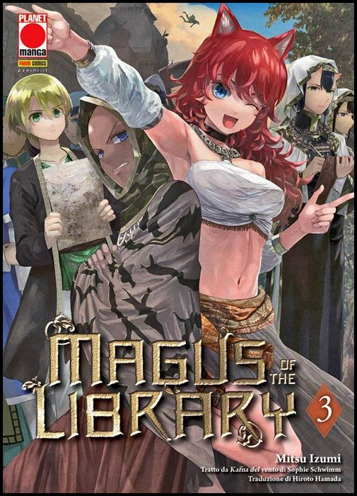 MAGUS OF THE LIBRARY #     3