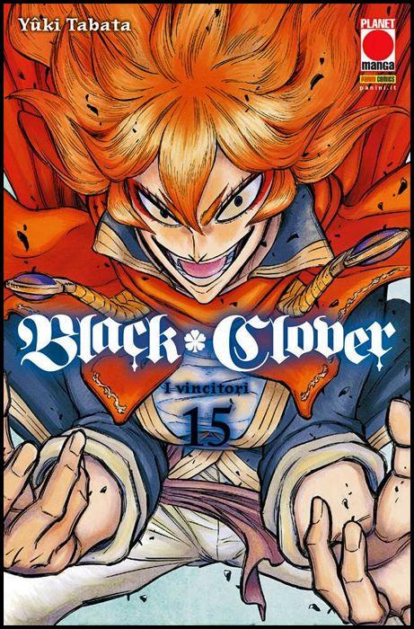 PURPLE #    28 - BLACK CLOVER 15 - 1A RISTAMPA