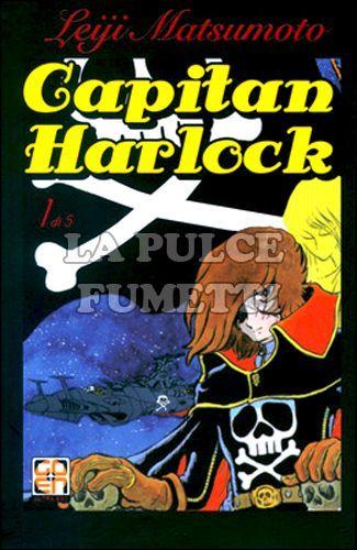 CULT COLLECTION - CAPITAN HARLOCK DELUXE EDITION 1/5 COMPLETA NUOVI