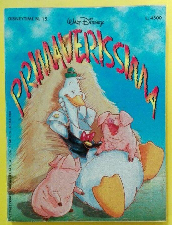 DISNEY TIME #    15: PRIMAVERISSIMA 1998