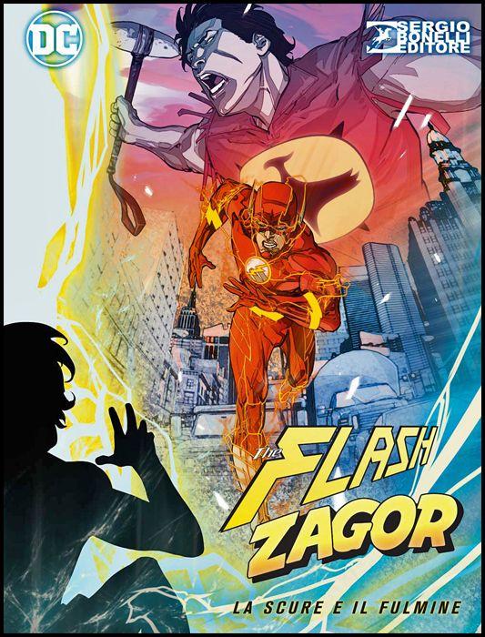 FLASH / ZAGOR #     0: LA SCURE E IL FULMINE - FULMINE COVER