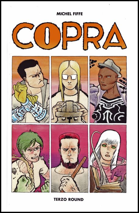 PANINI COMICS 100% HD - COPRA #     3: TERZO ROUND