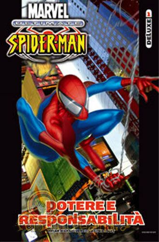 ULTIMATE DELUXE- ULTIMATE SPIDER-MAN  1/2